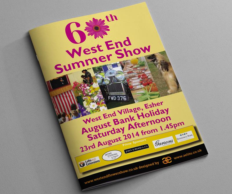Summer Show Programme