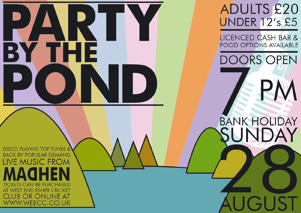 party by the pond 2016