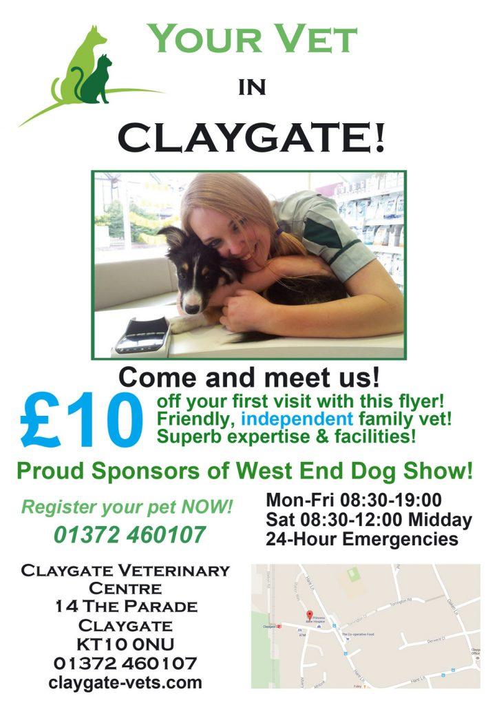 claygate vet