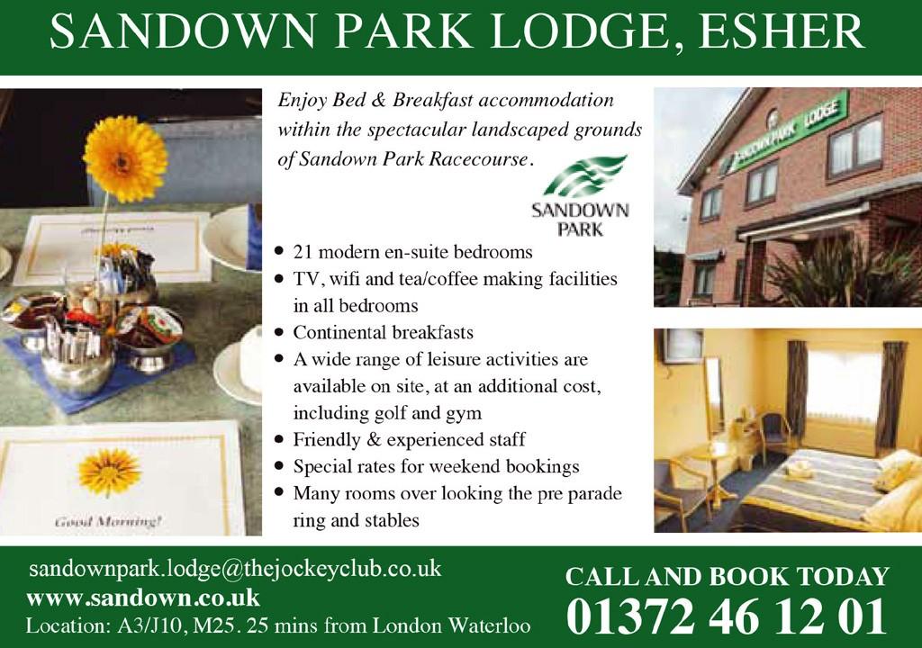 sandown park lodge