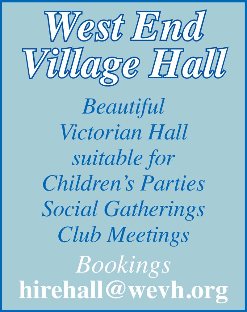 west end village hall